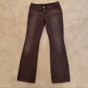 Lucky Brand Brown Denim Jeans